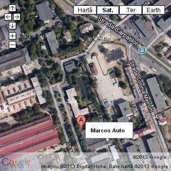 Harta Service Marcos Auto Brasov